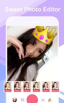 Sweet Selfie & Filtre Camera & Beauty Camera screenshot 1