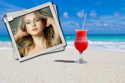 Beautiful Beach Photo Frames poster