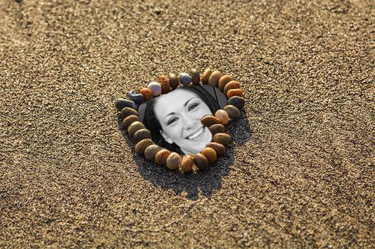 Beautiful Beach Photo Frames screenshot 1