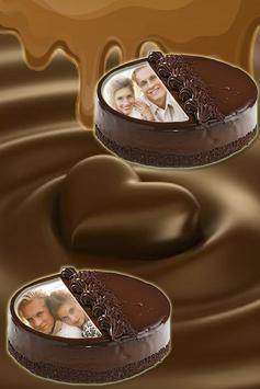 Cool Love Cake Photo Frames HD screenshot 1