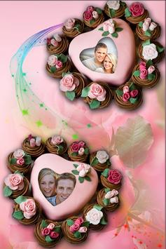 Cool Love Cake Photo Frames HD screenshot 2