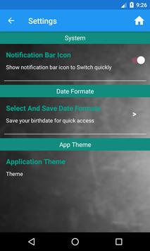 Smart Age Calculator apk screenshot