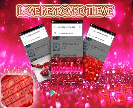 Love Keyboard Theme 2016 apk screenshot