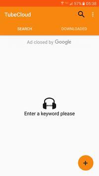TubeCloud Music and Audio Mp3 screenshot 1