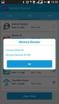 Memory Booster apk screenshot