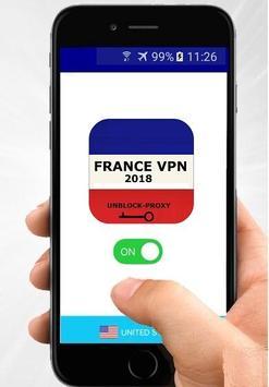 France VPN Free - Fast VPN connection poster
