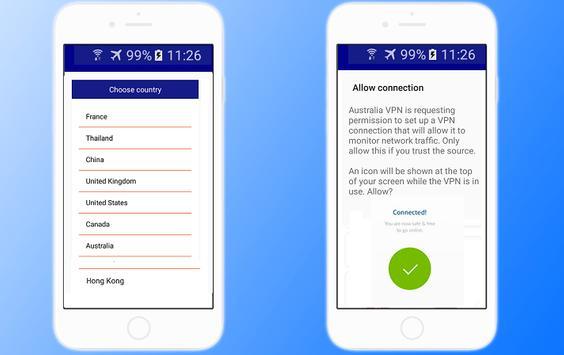 France VPN Free - Fast VPN connection screenshot 1