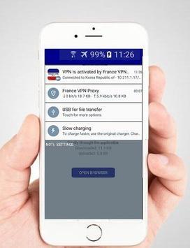 France VPN Free - Fast VPN connection screenshot 2