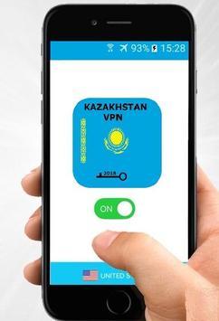 Kazakhstan VPN Free poster