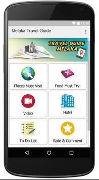 Melaka Tourist Guide (Malacca) poster