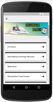 Melaka Tourist Guide (Malacca) screenshot 1