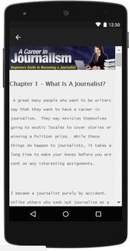 Career In Journalism apk screenshot
