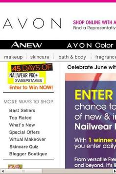 Avon Oasis screenshot 2