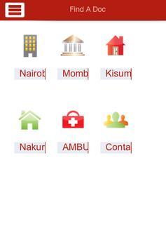 Find A Doctor- Kenya poster