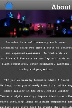 Lumonics Gallery poster