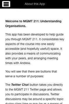 MGMT211 UoA apk screenshot