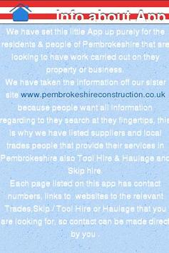 Supply & Trade Pembrokeshire screenshot 1