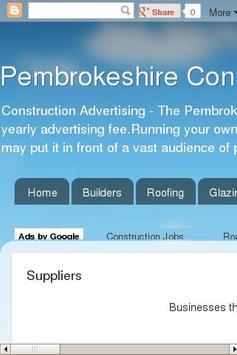 Supply & Trade Pembrokeshire apk screenshot