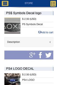 PS4DECALS.COM screenshot 1