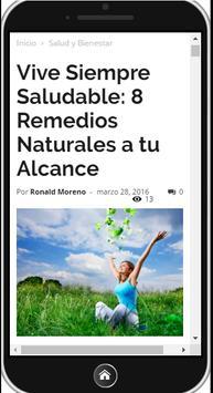 8 Remedios Naturales screenshot 1