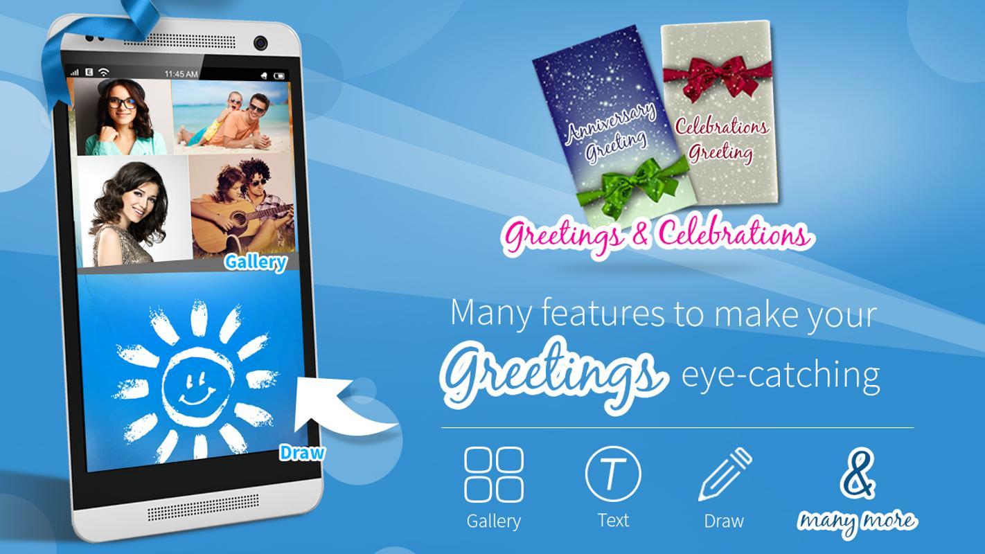 Greeting card maker apk download free social app for android greeting card maker apk screenshot m4hsunfo
