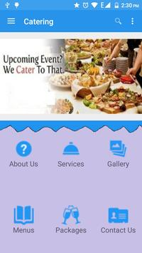 Sirvi Caterers poster