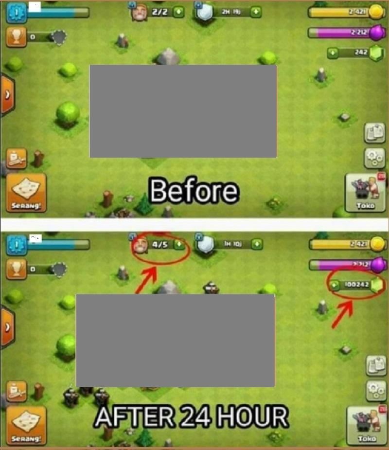 clash of clans gem hack android download