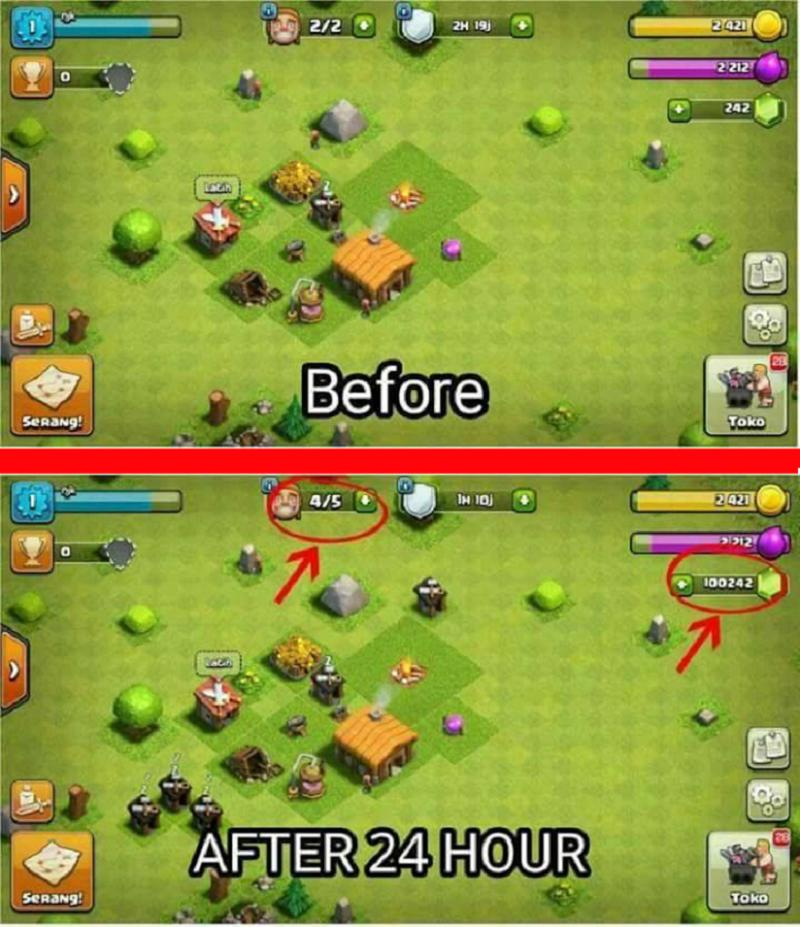 SCARICA CLASH OF CLANS HACK