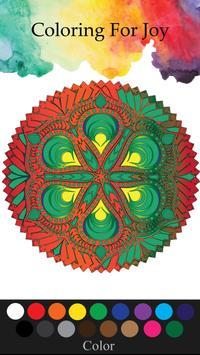 Mandala Adults Coloring Book screenshot 2