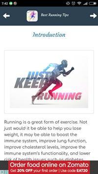 Best Running Tips screenshot 1