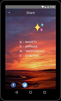 Name Meaning apk screenshot