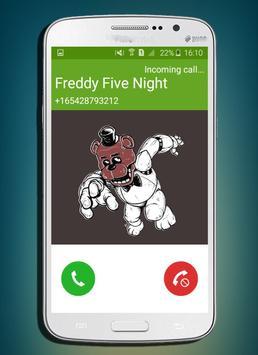 call from five night freddy NEW PRANKS 2017 screenshot 1