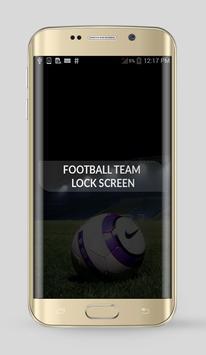 Football Team Lock Screen poster