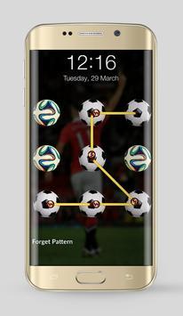 Football Team Lock Screen apk screenshot