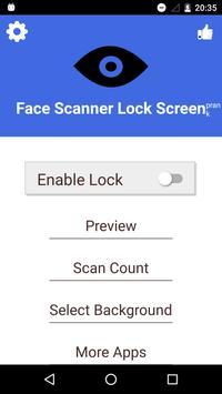 Face Scanner Lock Screen Prank screenshot 2