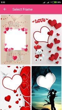 Love Photo Frames Editor - Greetings screenshot 1