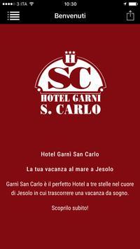 Hotel Garni San Carlo Jesolo E poster