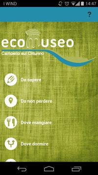Eco Museo Campello poster
