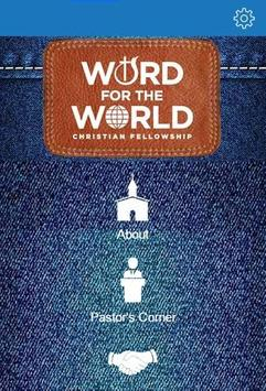 Word for The World poster