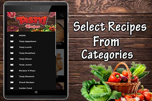 Tasty food recipes apk download free food drink app for android tasty food recipes poster forumfinder Choice Image