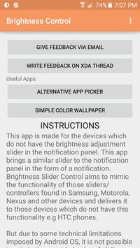 Brightness Slider Control apk screenshot