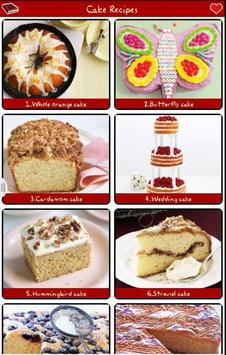 Cake Recipes FREE! poster