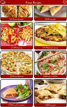 Pizza Recipes Free! poster