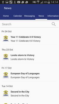 Loreto High School apk screenshot