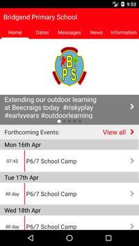 Bridgend Primary School poster
