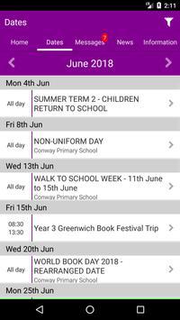 Conway Primary School apk screenshot