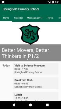 Springfield Primary School poster