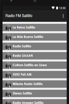 FM Radio Saltillo apk screenshot