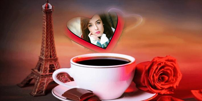Coffee Cup Photo Frame screenshot 1