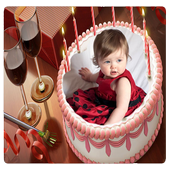 Cake Photo Frame icon